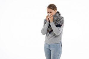 למה האף נסתם כשמנוזלים